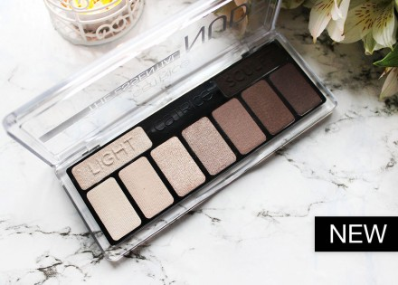 Тени для век CATRICE The Essential Nude Collection Eyeshadow Palette 010 нюдовые: фото