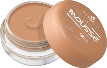 Мусс тонирующий Soft Touch Matt Mousse Essence 02 matt beige: фото
