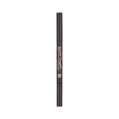 Карандаш для бровей автоматический с щеточкой Holika Holika Wonder Drawing 24hr Auto Eyebrow тон 02 темно-коричневый 2,2г: фото