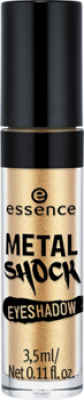 Тени для век Essence Metal shock eyeshadow 01 золотой: фото