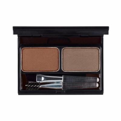 Палетка для бровей It's Skin It's Top Professional Eyebrow Cake тон 02 коричневый+серо-коричневый 2г+2г: фото