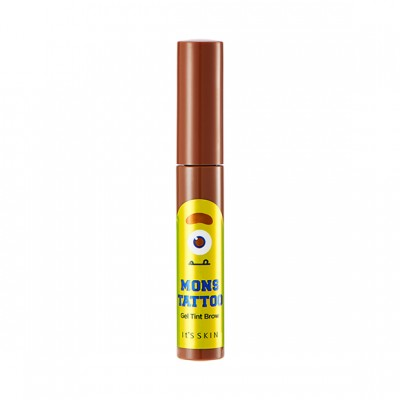 Тинт для бровей It's Skin MonsTattoo, тон 02, коричневый, 10мл: фото