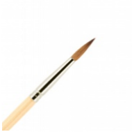 Кисть для ногтей акрил ВАЛЕРИ-Д из волоса колонка №4 круглая в футляре: фото