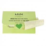 Матирующие салфетки NYX PROFESSIONAL MAKEUP MATTE Green BLOTHING PAPER: фото