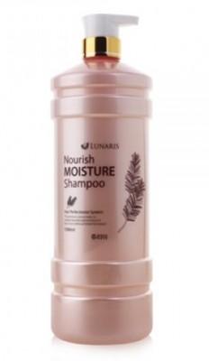 Шампунь для волос питательный увлажняющий LUNARIS Nourish moisture shampoo 1500 мл: фото