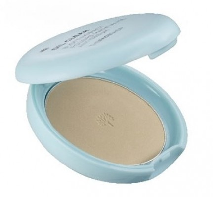 Пудра компактная THE FACE SHOP Oil Clear Smooth & Bright Pact SPF30 №V201 Apricot Beige: фото