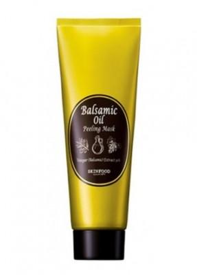 Маска ночная с эффектом пилинга SKINFOOD Balsamic Oil Peeling Mask: фото