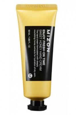 Крем с медом для глубокого питания сухой кожи рук MIZON Enjoy Fresn-On Time Sweet Honey Hand Cream: фото