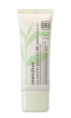BB-крем с зеленым чаем INNISFREE Eco Natural Green Tea BB-Cream SPF29 №1 Light Beige: фото