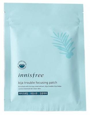 Патчи гидрогелевые для проблемной кожи INNISFREE Bija Trouble Focusing Patch: фото