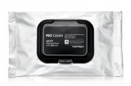Очищающие салфетки TONY MOLY Pro clean smoky cleansing tissue 30 шт: фото