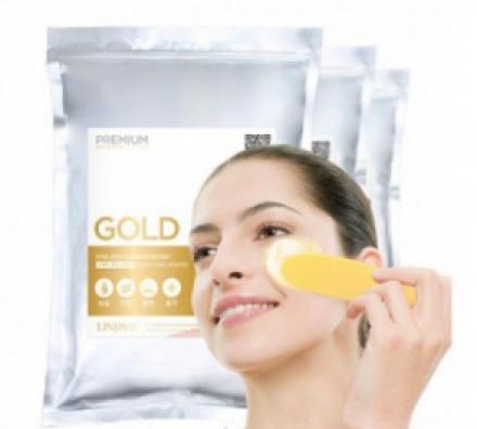 Альгинатная маска LINDSAY Premium gold modeling mask pack 1кг: фото