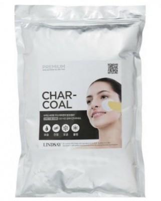 Альгинатная маска с углем LINDSAY Premium charcoal modeling mask pack zipper 1 кг: фото