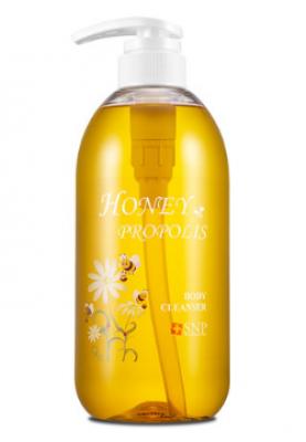 Очищающее средство для тела SNP Honey&propolis body cleanser 700 мл: фото
