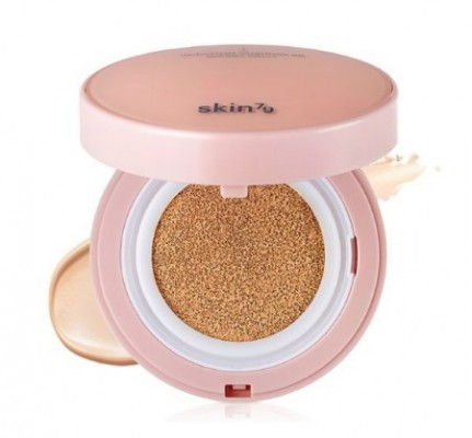 ВВ-кушон SKIN79 Injection cushion BB SPF50 Natural beige 14г: фото
