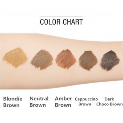Тушь для бровей MISSHA Color Wear Browcara Blondy Brown: фото
