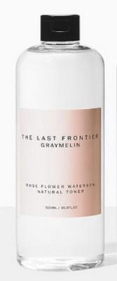 Тонер c 85 % экстрактом розовой воды GRAYMELIN Rose flower water 85% natural toner 500мл: фото