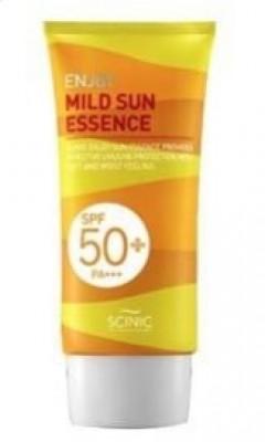 Солнцезащитная нежная эссенция SCINIC Enjoy Mild Sun Essence SPF50 50мл: фото