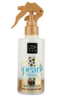 Эссенция-мист на водной основе MISE EN SCENE Pearl Smooth & Silky Moisture Hair Mist: фото