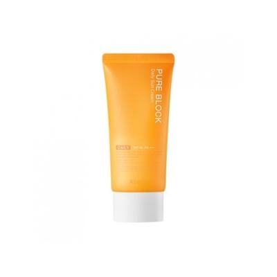 Солнцезащитный ежедневный крем для лица A'PIEU Pure Block Daily Sun Cream SPF45: фото