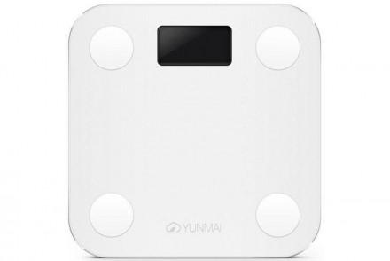 Умные весы YUNMAI mini, белые: фото