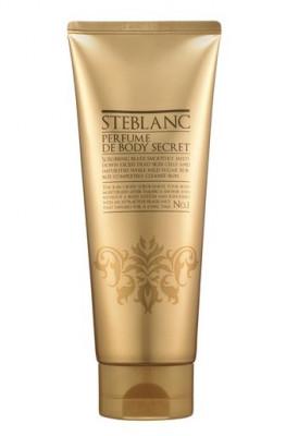 Парфюмированный скраб для тела 4в1 STEBLANC Perfume de body secret №1Gold: фото