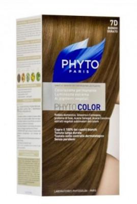 Краска для волос PHYTOSOLBA Phyto Color 7D Золотистый Блонд: фото