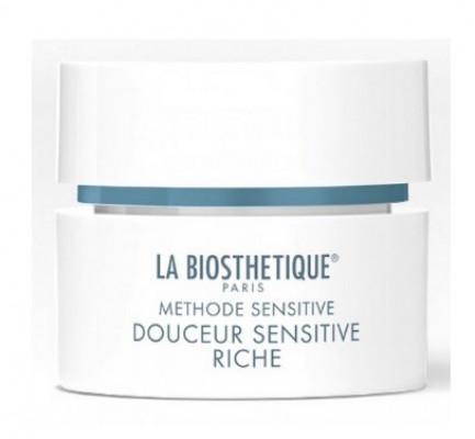 Крем успокаивающий интенсивный для очень сухой, чувствительной кожи La Biosthetique Douceur Sensitive Riche 50мл: фото