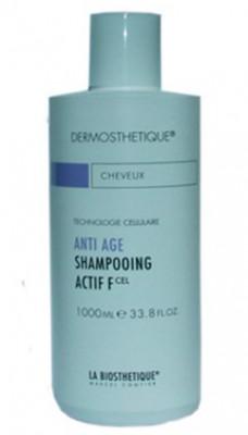 Шампунь клеточно-активный для тонких волос La Biosthetique Anti Age Shampooing Actif F 1000мл: фото