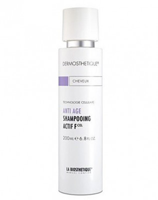 Шампунь клеточно-активный для тонких волос La Biosthetique Anti Age Shampooing Actif F 200мл: фото