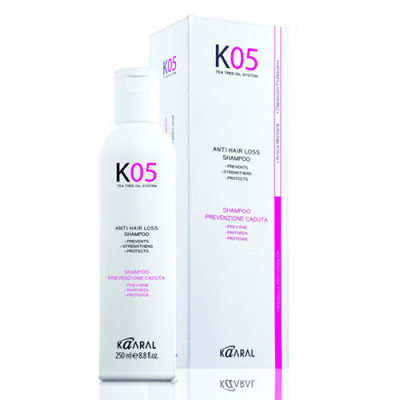 Шампунь для профилактики выпадения волос Kaaral К05 Anti Hair Loss Shampoo 250мл: фото