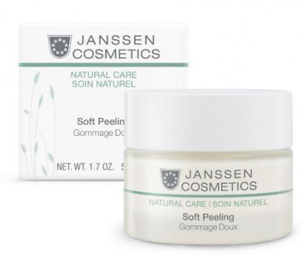 Пилинг деликатный для очищения и выравнивания кожи Janssen Cosmetics Organics Soft Peeling 50 мл: фото