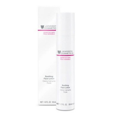 Эмульсия успокаивающая смягчающая Janssen Cosmetics Soothing Face Lotion 50 мл: фото