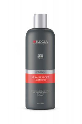 Шампунь Кератиновое Восстановление Indola Kera Restore Shampoo 300 мл: фото