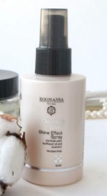 Спрей для придания блеска волосам Egomania Dazzling Shine 120мл: фото