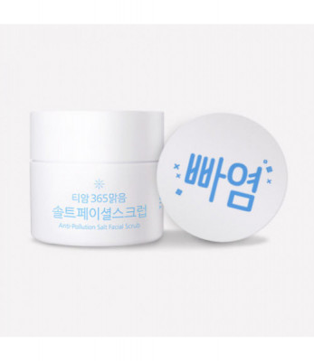 Скраб для лица TIAM Anti-Pollution Salt Facial Scrub 80мл: фото
