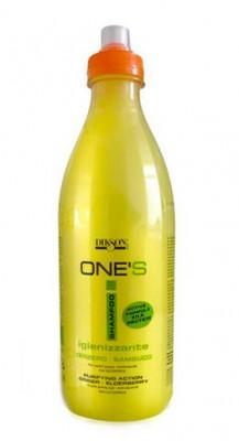 Шампунь от перхоти для жирных волос Dikson ONE'S SAMPOO IGINIZZANTE 1000 мл: фото