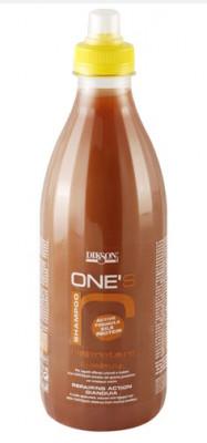 Шампунь питательный с хитозаном Dikson ONE'S SAMPOO RIPARATORE 1000мл: фото