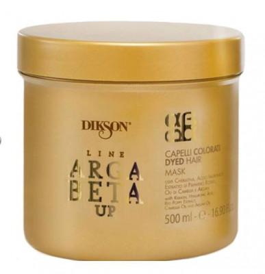 Маска для окрашенных волос с кератином Dikson ARGABETA UP Maschera Capelli Colorati 500мл: фото