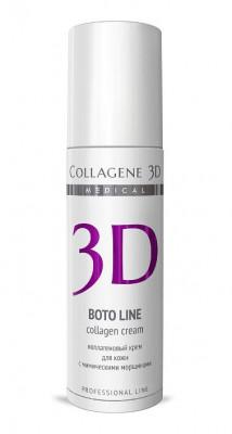 Крем с Syn®-ake комплексом, коррекция мимических морщин Collagene 3D BOTO LINE 150 мл: фото