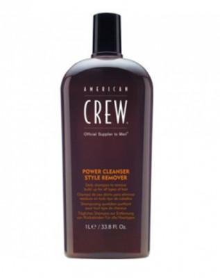 Шампунь для ежедневного ухода, очищающий волосы от укладочных средств American Crew POWER CLEANSER STYLE REMOVER SHAMPOO 1000мл: фото