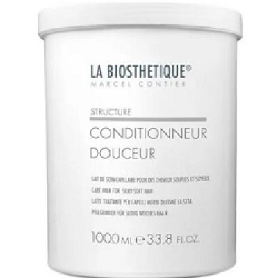 Кондиционер для придания волосам шелковистой легкости La Biosthetique Conditionneur Douceur 1000мл: фото