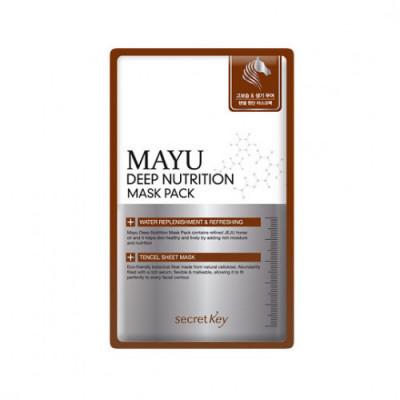 Маска для лица питательная SECRET KEY MAYU Deep Nutrition Mask Pack 20гр: фото