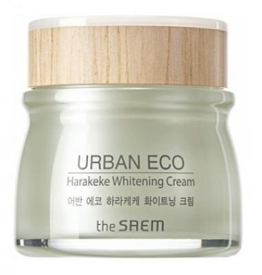 Крем осветляющий с экстрактом новозеландского льна THE SAEM Urban Eco Harakeke Whitening Cream 60мл: фото
