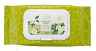 Салфетки очищающие с экстрактом зеленого чая THE SAEM Healing Tea Garden Green Tea Cleansing Tissue 60шт: фото