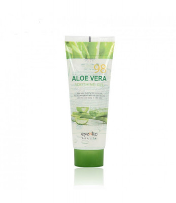 Гель для тела Eyenlip с экстрактом алое туба 98% ALOEVERA SOOTHING GEL 100мл: фото
