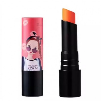 Бальзам для губ FASCY BANDANNA Tina Tint Lip Essence Balm Indian Orange 4г: фото