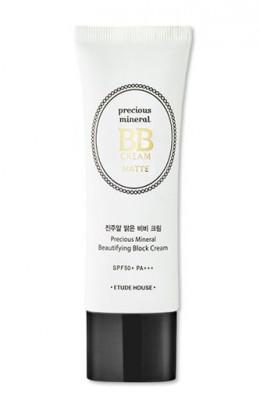 BB-крем матирующий ETUDE HOUSE Precious Mineral BB Cream Matte Beige SPF50+/PA+++: фото