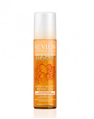 Кондиционер 2-х фазный солнцезащитный Revlon Professional EQUAVE INSTANT BEAUTY SUN PROTECTION DETANGLING CONDITIONER 200мл: фото