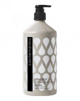 Шампунь увлажняющий с маслами облепихи и манго Barex Shampoo Idratante Olio di Olivello Spinoso e di Mango 1000мл: фото
